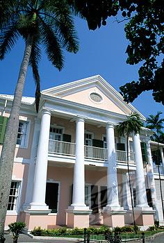Bahamas, Nassau, Supreme Court building