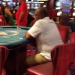 Hubert Ingraham sails to Haiti at the Poker Table - BP is live on the cruise...