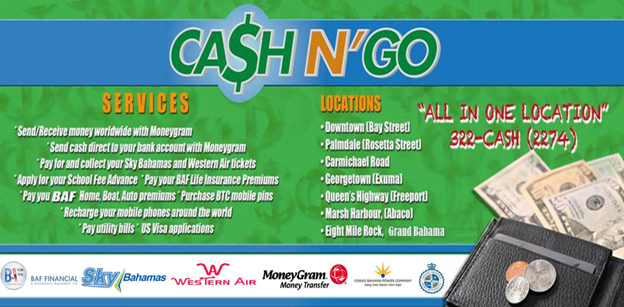 Cash And Go >> Cash N Go 5 9 2 9 Bahamaspress Com