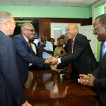 Haitian president Michael Martelly calls on Bahamas Opposition Leader