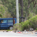 Breaking News >>> Another traffic fatality on Eleuthera this morning - man dies at the scene...