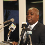 Prime Minister Christie and DPM Davis launch Urban Renewal GED Program...