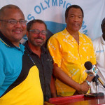 Bahamian Volleyball players polishing skills under renowned Brazilian coach