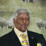 "100 year old Nathaniel ""Piccolo Pete"" Saunders of Bimini honoured!"