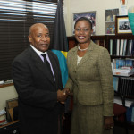 Data Protection Commissioner Courtesy Call at the Parliamentary Registration Department