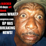 The Bahamas' largest reader online base BP/Alexander James has been shut down for 30 days by Facebook!