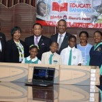 Members of Parliament Donate 260 Laptops To 'Mission Educate Bahamas'
