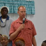 Deputy Prime Minister Philip Brave Davis was back in Exuma addressing the community following the straw market fire...