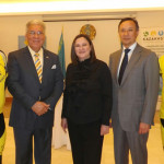 Consul Gen. Carroll attends exhibition on dangers of nuclear weapons testing