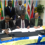 SIGNING THE AIR PASSENGER SERVICES AGREEMENT