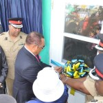 PM Re-Opens Fire Station at Eight Mile Rock