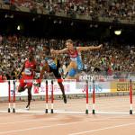 Jeffery Gibson takes bronze in 400m hurdles in Beijing