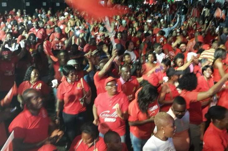 PNM WINS GOVERNMENT IN T&T last night!