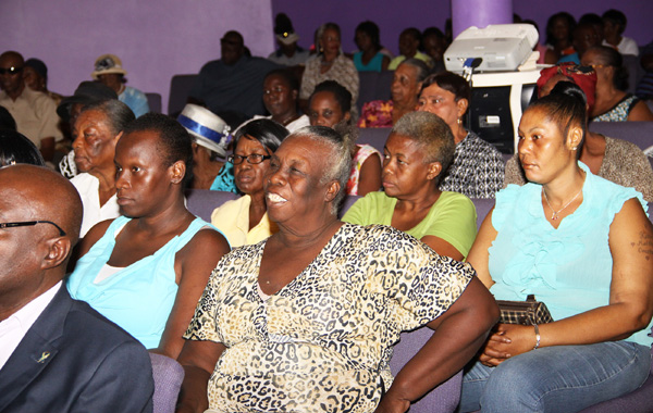 Attentive Audience in Andros as new card is introduced.