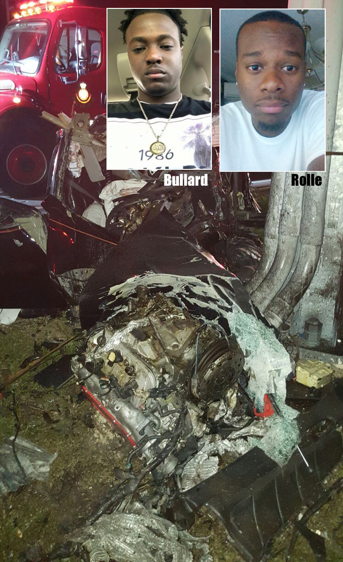 Marcian Bullard and Kirkwood Rolle at the 7th and 8th fatality victims to die in accidents in the last 10 days.