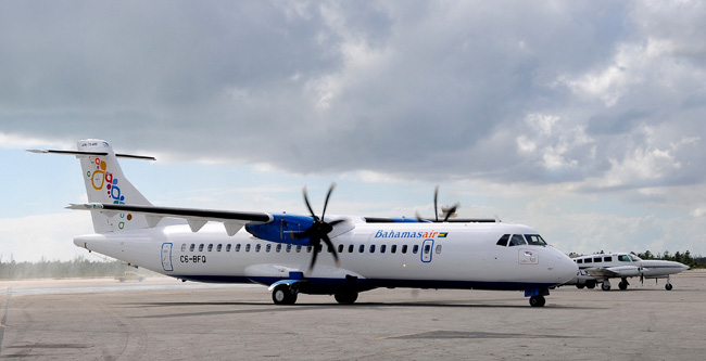 $22.7 Million ATR aircraft arrives at Bahamasair.