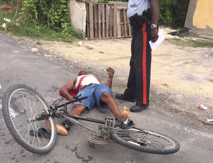 Latest homicide victim Wellington Roberts fatally shot this afternoon. He was recently released on bail and was being monitored by authorities.