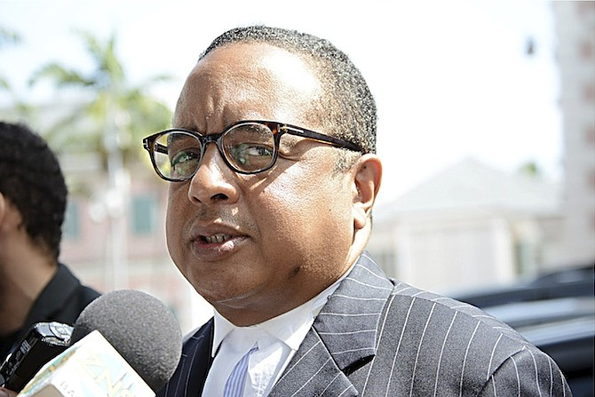 Damian Gomez has left the Cabinet of the Bahamas
