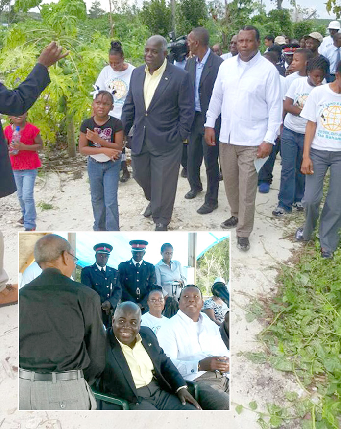 Deputy Prime Minister the Hon. Philip Davis officially opens the first phase of the Bahamas Holy Land Experience, an eco-adventure Religious Theme Park in South Andros