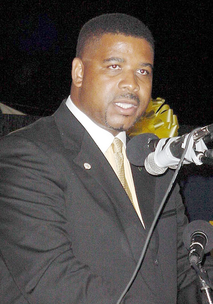 Former Turks and Caicos Islands' Premier Michael Misick.