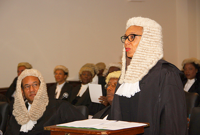 Madam Attorney General Sen. Hon. Allyson Mynard-Gibson QC