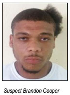 Brandon Cooper is wanted by police.