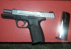 This weapon was taken off the streets yesterday by police.