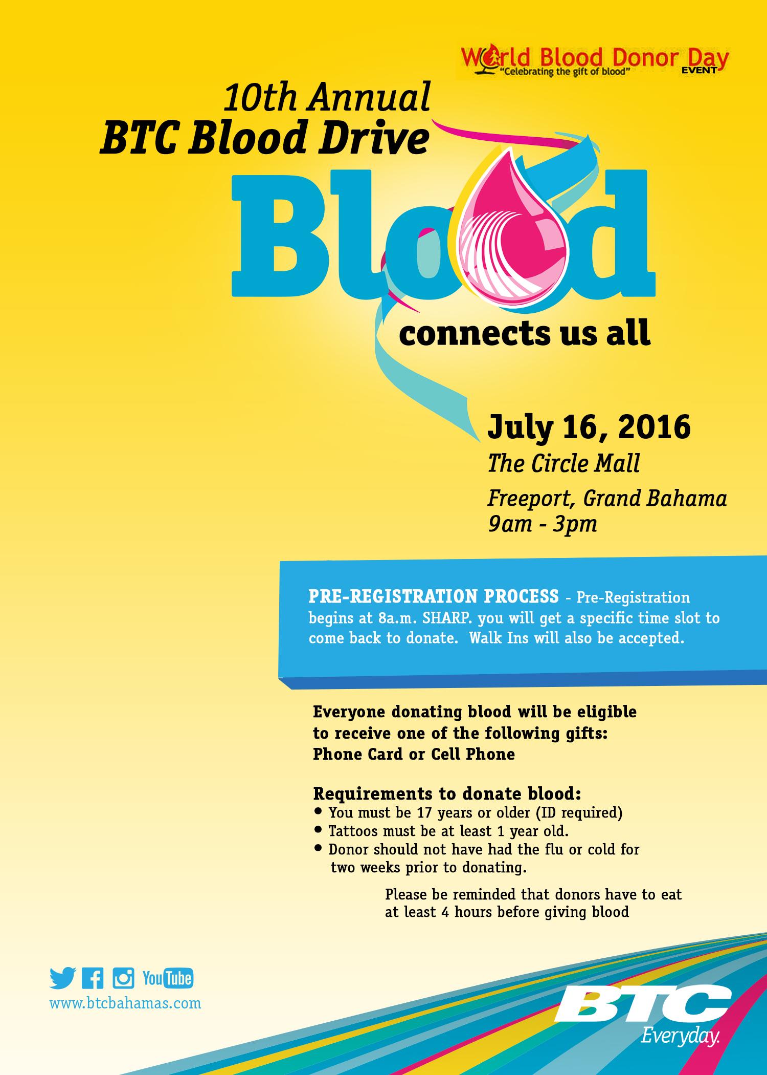 BloodDrive Nassau Flyer2016