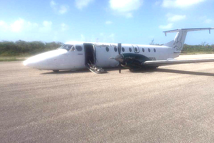 Southern Air aircraft on the tarmac.