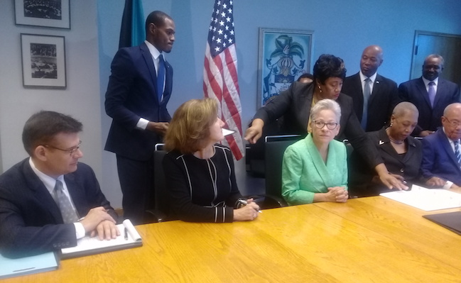 The Bahamas Signs Two Aviation Accords With The Faa Bahamaspress