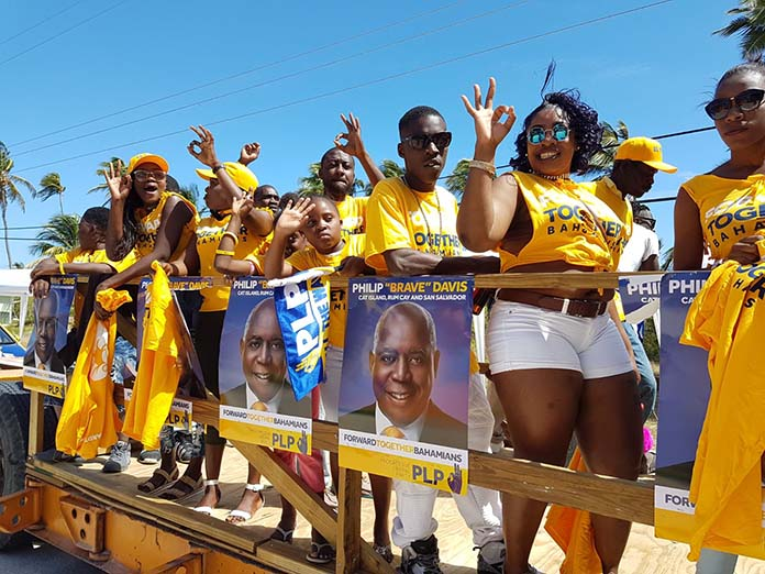 Scenes from todays NOMINATION DAY around the country ...