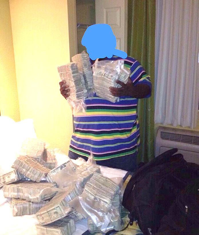 Police Collected 1 Million Out Cash Of A Home On Grand