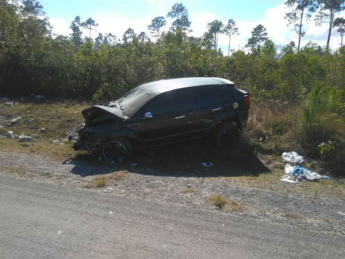 Bad accident on Abaco highway again… | Bahamaspress com