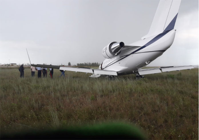 LPIA gives update on crash landing of aircraft on Saturday