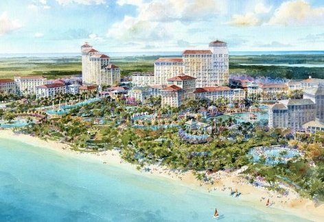 Bahamar Project now underway for West Bay Street