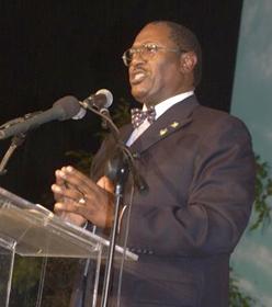 Bradley Roberts, Chairman of the PLP