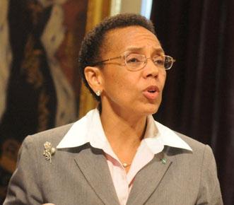 Madam Senator Allyson Maynard-Gibson