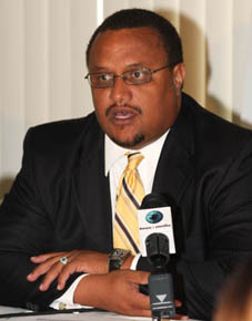 Hon. Greg Moss - will be dubbed a NATIONAL HERO for his detailed unearthing revelations of the scandals at NIB. He proves he gat more balls than most and could be the real future for the PLP.