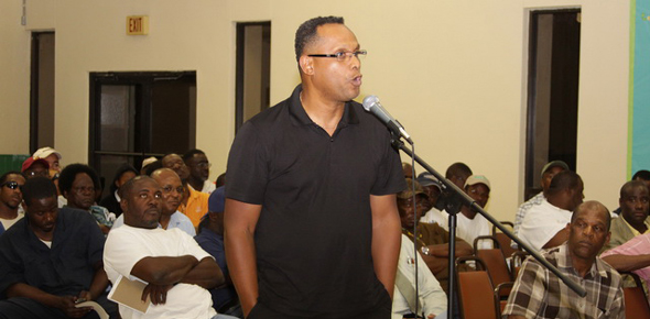 Senator Michael Darville fighting for the people of Grand Bahama left neglected by the FNM Government.