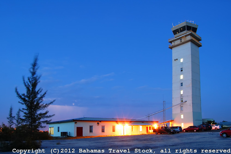 Control Tower at LPIA, Nassau Bahamas