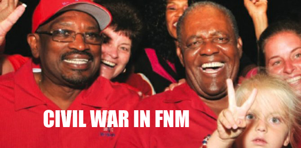 Ingraham calls for Civil War to erupt in the FNM against democratically elected Dr. Minnis. Ingraham proves once again he is a dangerous dictator.