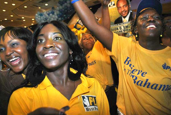 PLP Convention seven years ago shows a different party headed into Elections...