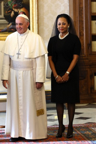 Italy - Religion - Pope Francis Meets Bahamas Prime Minister Perry Gladstone Christie