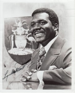 Sir Lydnen Pindling reminded Bahamians that what had happened in the Bahamas only few enjoyed in the world.