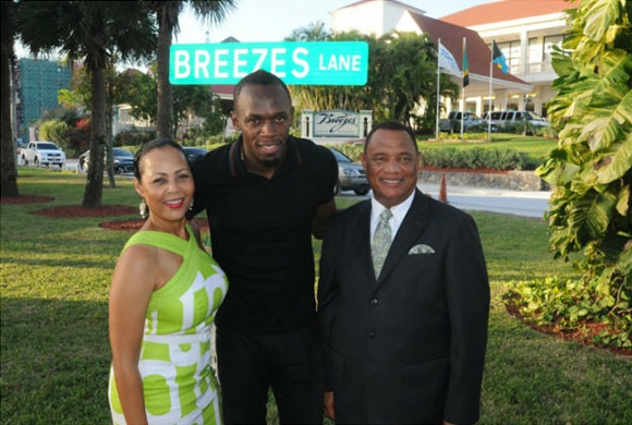 Bolt and the Christies...