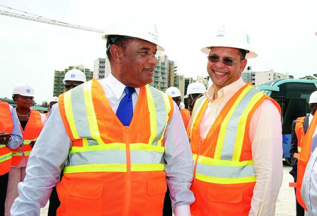 Serious problems could force Christie to turn to a robust family island development plans as concerns grow at Bahamar....