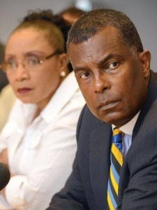 Minister Fred Mitchell and Parliamentary Secretary Cleola Hamilton the real defenders of the Bahamas!