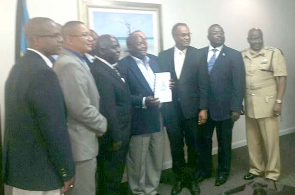 DPM Davis delivers a $6 million Fire Station contract for Grand Bahama.