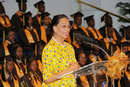 Her Excellency Governor General Dame Marguerite Pindling