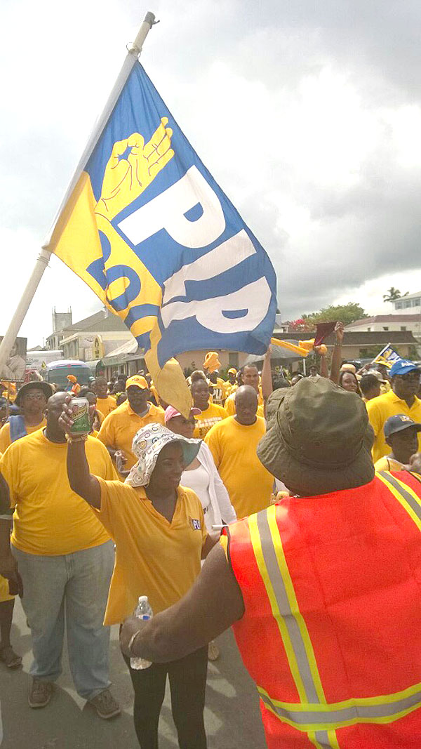 PLP Gold Rush Tsumani shook Bay Street at the Labour Day 2015.